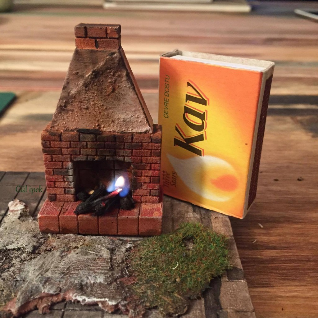 Miniature fireplace By Gül ipek