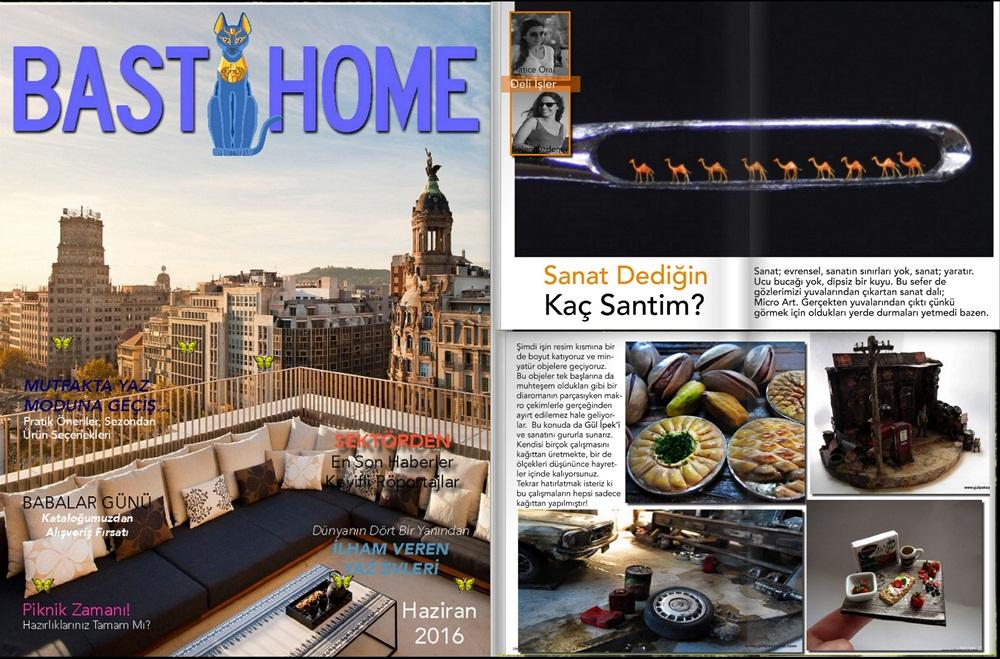 Bast Home Dergisi Haziran 2016