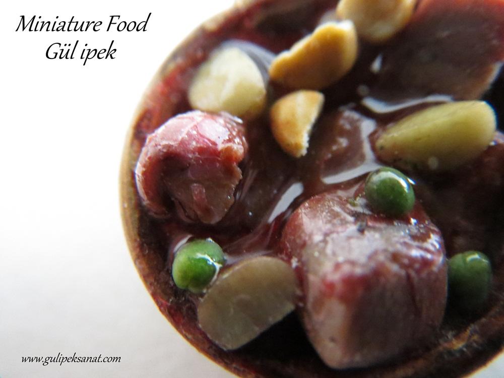 www.gulipeksanat.com Miniature food /Minyatür gıda
