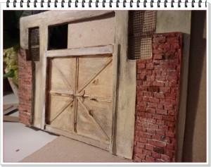 Tamirhane Diorama 1/24  /Workshop /garaj kapısı