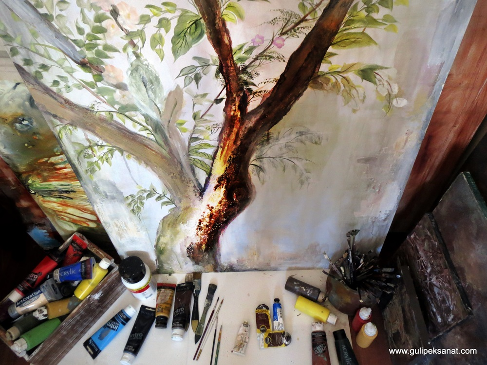Paperart _wall_painting_gulipeksanat (8)