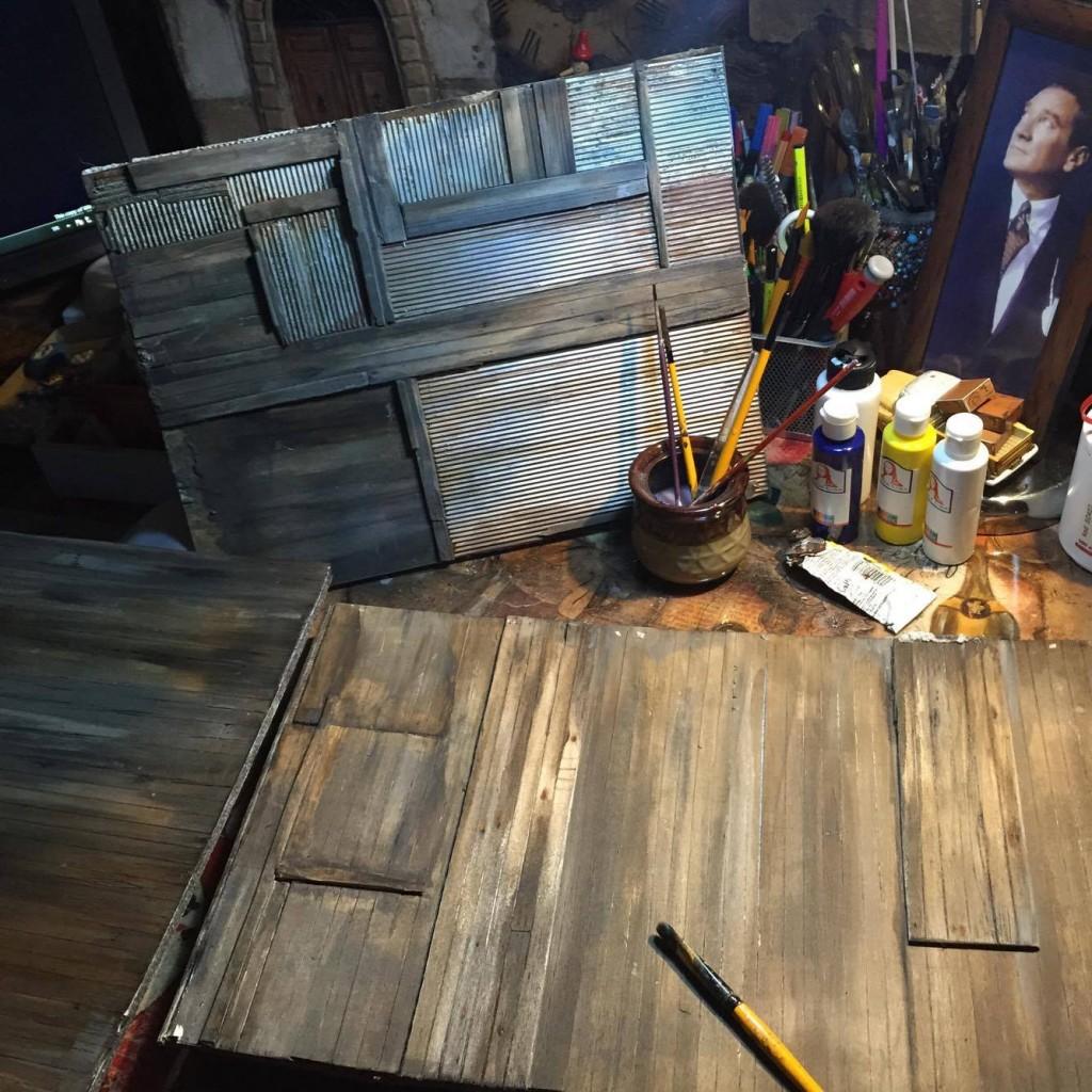 tütüncülük diorama
