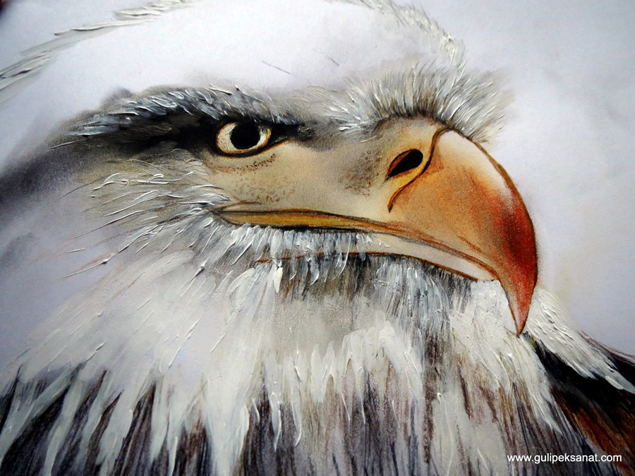 Eagle Drawing By Gül ipek