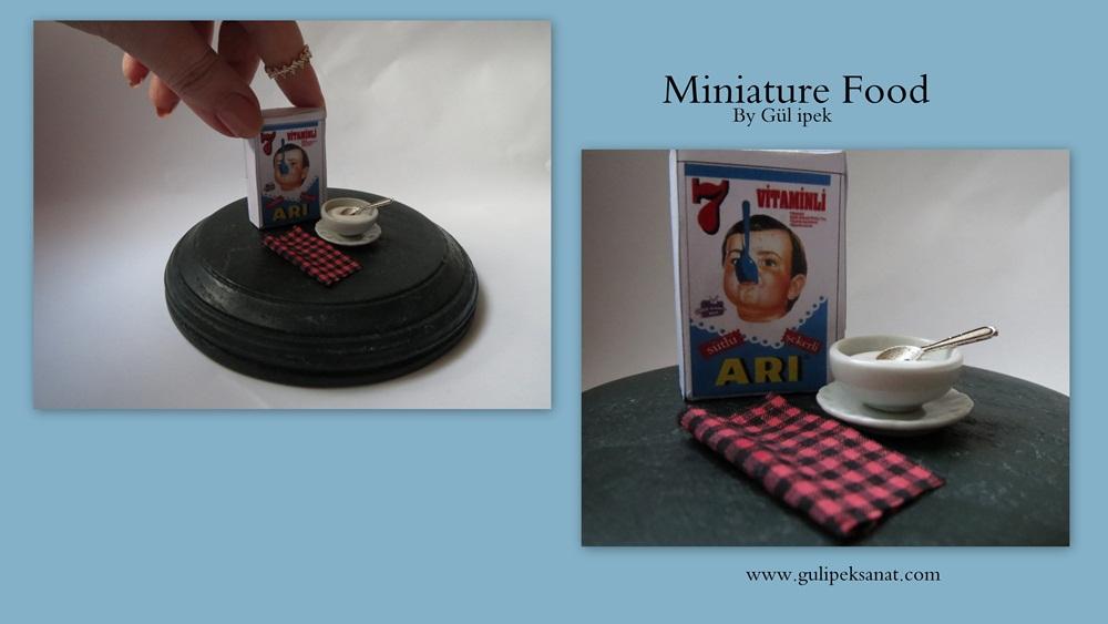 Miniature Food - www.gulipeksanat.com