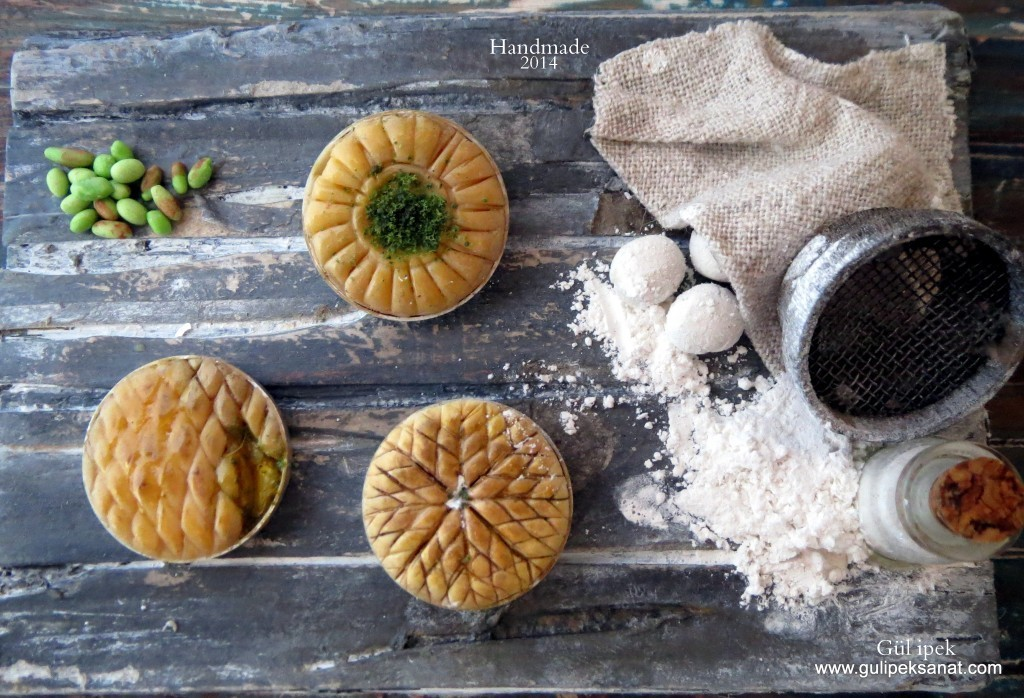 Miniature Food By Gül İpek  .BAKLAVA