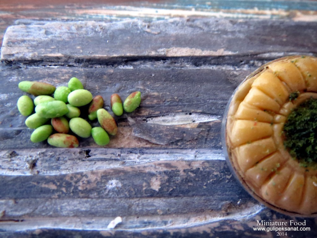Baklava /Miniature Food By Gül ipek 2014