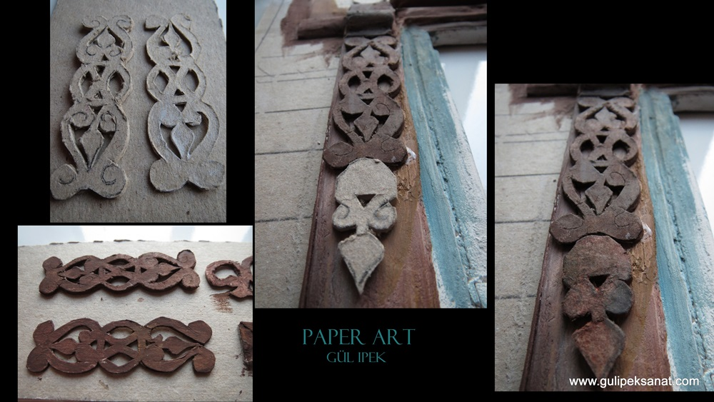 Paper Art/Gül ipek
