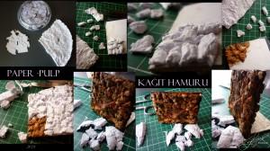Paper-pulp art / Kağıt hamuru /1