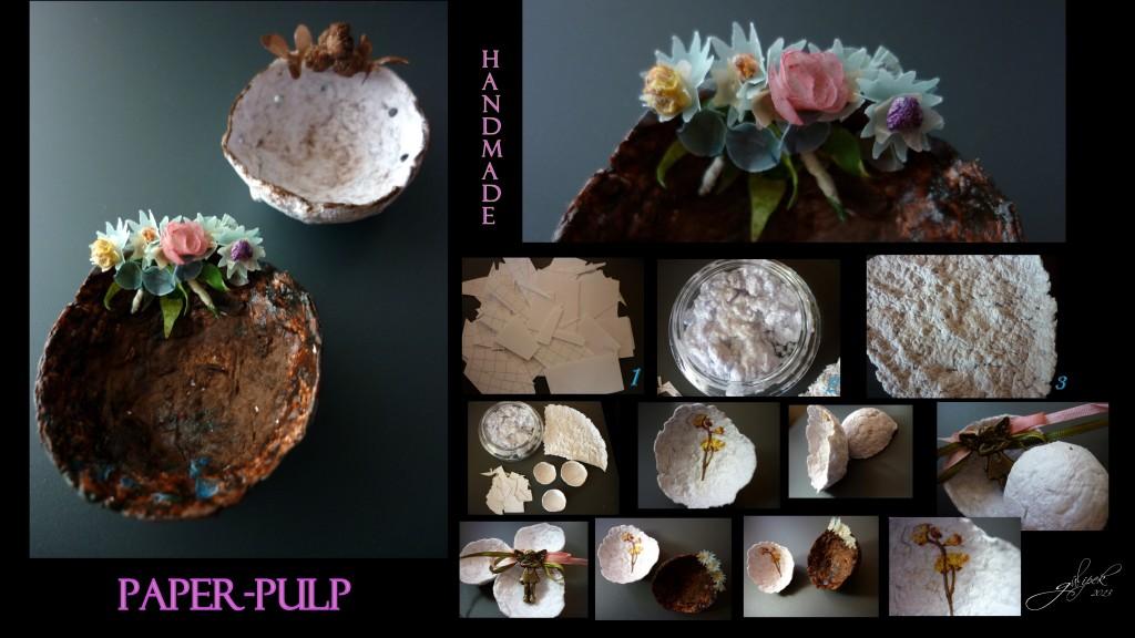 Paper-pulp art / Kağıt hamuru /2