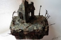 Building underground scale 1:35- Diorama  /