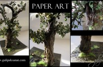 Paper art /Paper tree