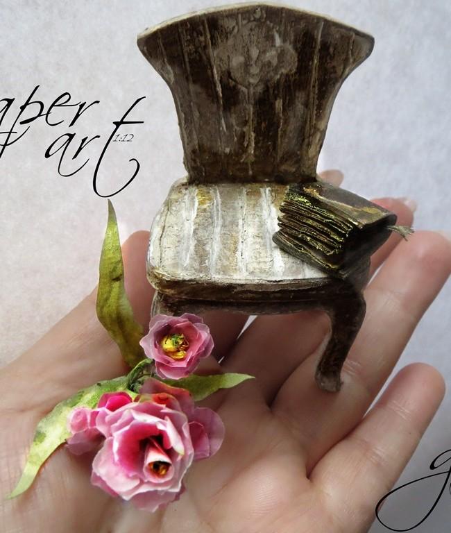 Paper  Pulp /Miniature Books 1:12
