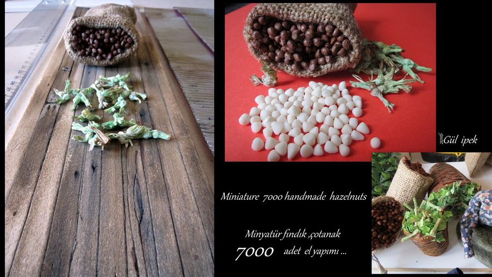 Fındıkçılık dioraması Gül İpek www.gulipeksanat.com