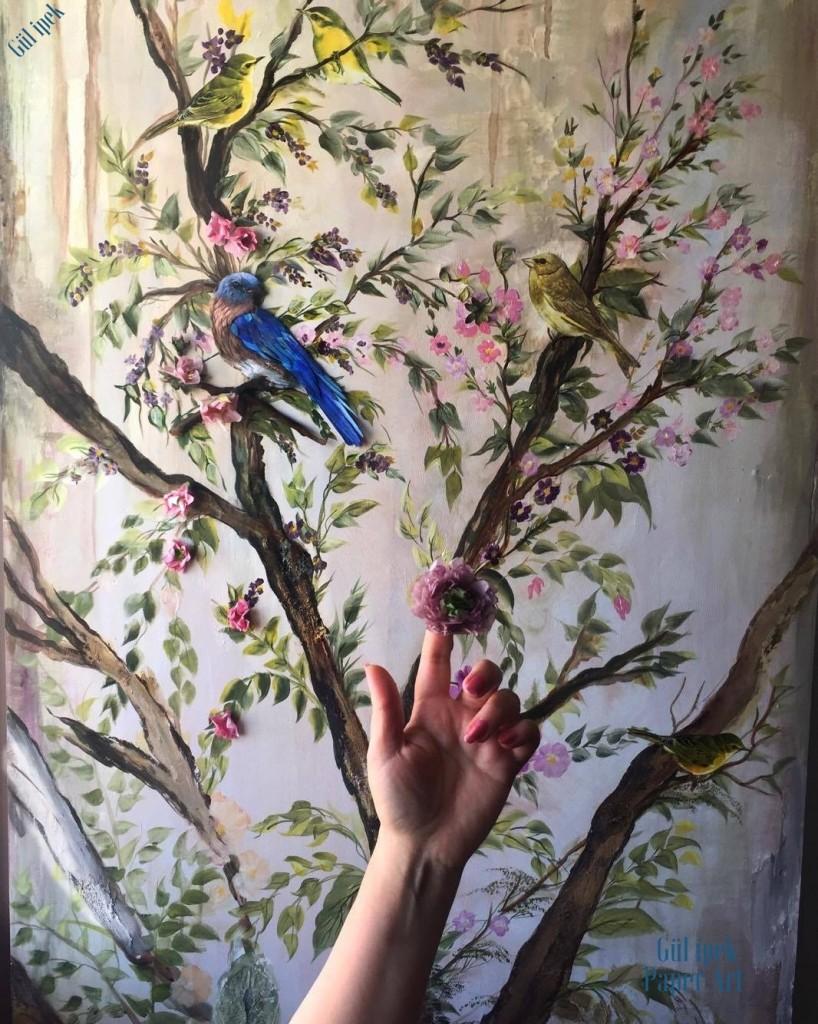 Ppaer art www.gulipeksanat.com