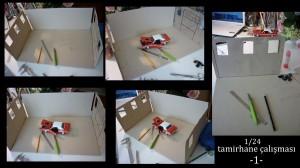 Tamirhane Diorama 1/24  /Workshop -1-