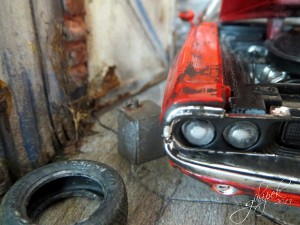 1970 Dodge Challenger RT Coupe Red Maisto 1:24
