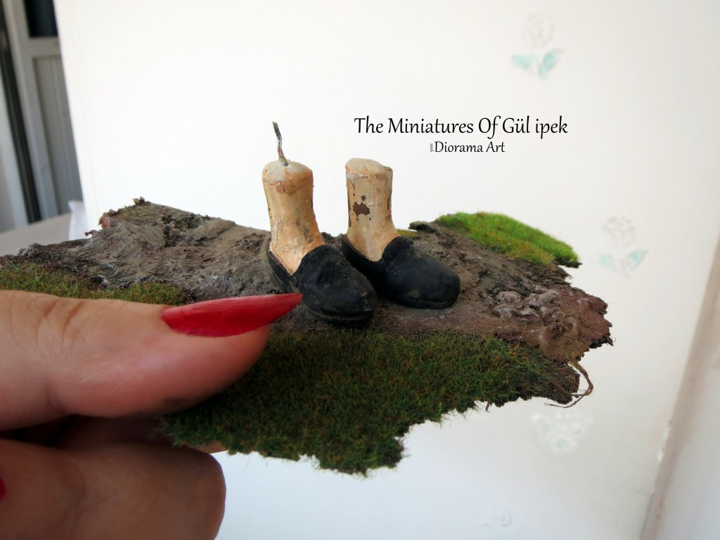diorama /miniatures /gul ipek